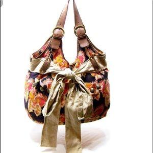Anthropologie Deux Lux Multicolored Hobo Bag